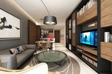 居外网在售马来西亚吉隆坡2卧2卫的房产总占地143平方米MYR 1,100,000