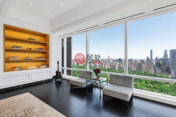 居外网在售美国曼哈顿4卧4卫的房产总占地410平方米USD 21,500,000