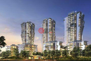 中星加坡房产房价_新加坡房产房价_居外网在售新加坡1卧1卫新开发的房产总占地23786平方米SGD 1,449,000