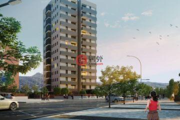 居外网在售西班牙3卧2卫新开发的新建房产总占地79平方米EUR 229,000起