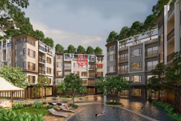 居外网在售泰国1卧1卫新房的房产总占地34平方米THB 2,659,800
