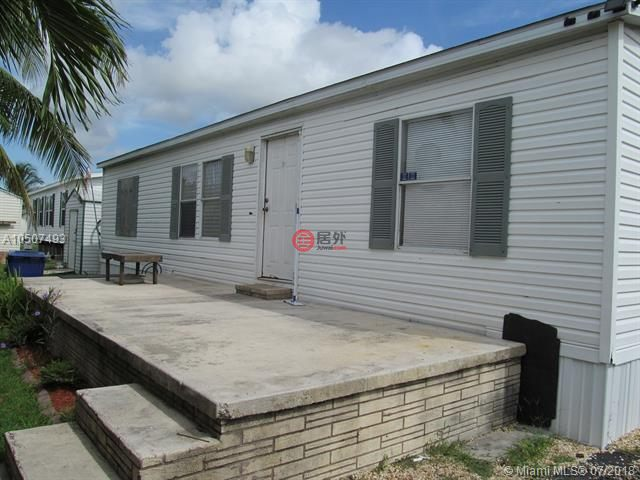 美国佛罗里达州霍姆斯特德的房产,34486 sw 187th rd lot 210,编号419