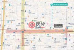 日本大阪府的房产,中央区Nishishinsaibashi, 1 Chome−4−3 心斎橋,编号45568607