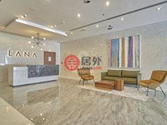 居外网在售阿联酋迪拜1卧2卫的房产总占地79平方米AED 3,500 / 月