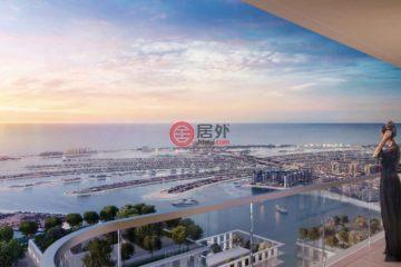 居外网在售阿联酋1卧1卫特别设计建筑的房产总占地81平方米AED 1,508,888