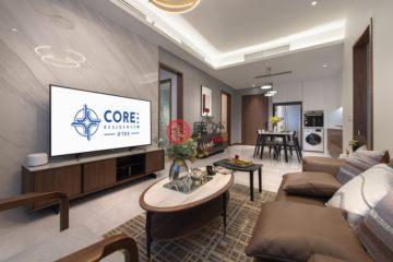 居外网在售马来西亚1卧1卫局部整修过的房产总占地64平方米MYR 1,350,000