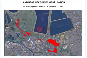 居外网在售英国伦敦总占地339936平方米的住宅用地