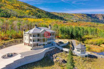 居外网在售美国5卧6卫的独栋别墅总占地870074平方米