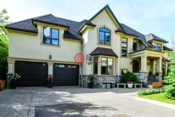 居外网在售加拿大4卧6卫最近整修过的房产总占地718平方米CAD 2,688,000