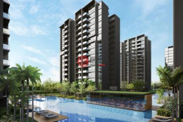 居外网在售新加坡1卧1卫新开发的房产总占地21717平方米SGD 673,000