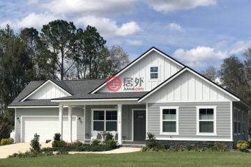 居外网在售美国3卧2卫新房的房产总占地168平方米USD 217,408
