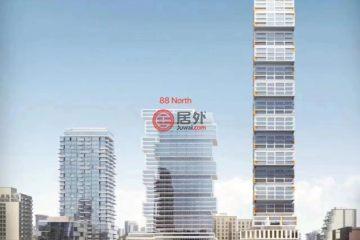 居外网在售加拿大多伦多的房产总占地37平方米CAD 550,000