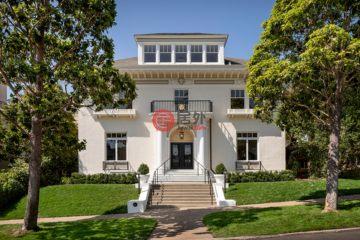 美国房产房价_加州房产房价_旧金山房产房价_居外网在售美国旧金山7卧7卫特别设计建筑的房产总占地736平方米USD 9,250,000
