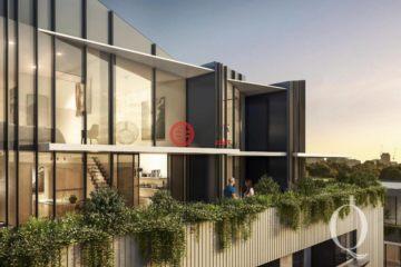 居外網在售澳大利亞3臥3衛特別設計建筑的房產總占地260平方米
