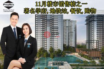 居外网在售新加坡3卧2卫新开发的房产总占地36986平方米SGD 1,498,000