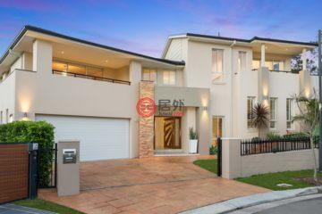 居外网在售澳大利亚5卧4卫特别设计建筑的独栋别墅总占地748平方米AUD 3,600,000