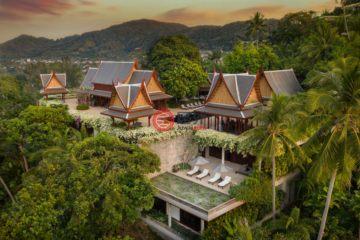 居外网在售泰国7卧9卫的房产总占地5682平方米