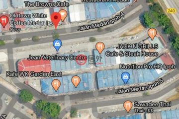 居外网在售马来西亚IpohMYR 780,000总占地153平方米的商业地产