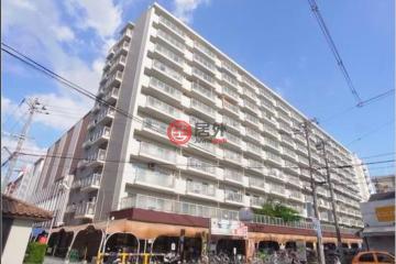 居外網在售日本大阪市3臥1衛的房產總占地69平方米JPY 15,800,000