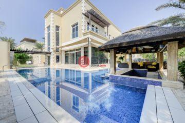 居外网在售阿联酋迪拜5卧6卫的房产总占地1507平方米AED 22,500,000
