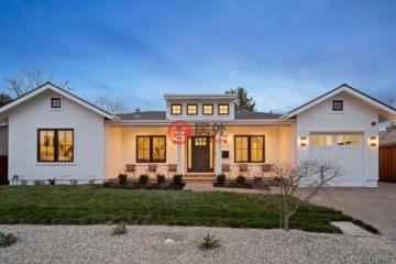 居外网在售美国5卧5卫新开发的房产总占地781平方米USD 5,498,000