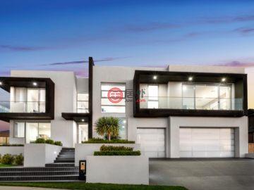 居外网在售澳大利亚6卧5卫特别设计建筑的房产总占地842平方米
