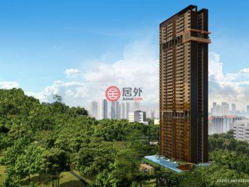 居外网在售新加坡Singapore新开发的新建房产SGD 1,104,000起