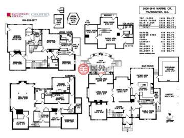 加拿大不列颠哥伦比亚省温哥华的房产,2606-2610 Marine Crescent ,编号52829717