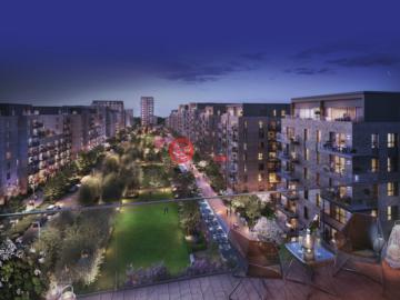 居外网在售英国2卧2卫新开发的新建房产总占地71平方米GBP 297,500起