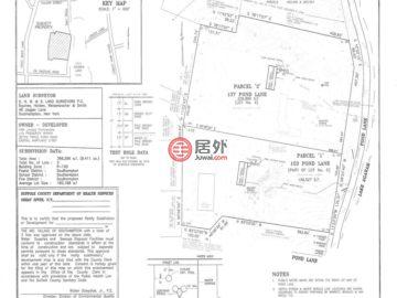 美国纽约州Southampton的房产,137 And 153 Pond Lane Lots 4 And 5,编号26142671