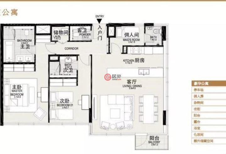 阿联酋迪拜迪拜的房产,Dubai 迪拜,编号51884145