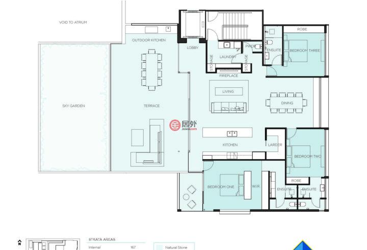 澳大利亚西澳大利亚州珀斯的房产,11/15 Overton Gardens,编号44741722