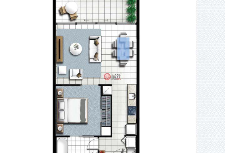 澳大利亚昆士兰布里斯班的房产,编号51683515