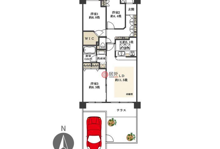 日本JapanTokyo的房产,编号57259282