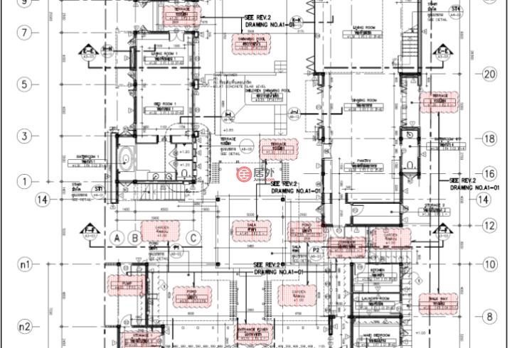 泰国班武里府华欣的房产,编号57058300