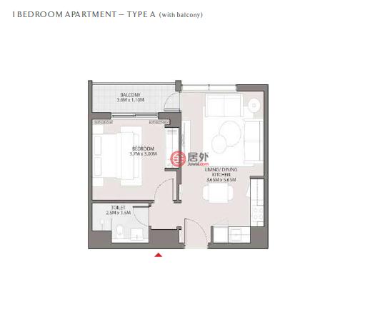 阿联酋迪拜迪拜的房产,Hartland Green, Sobha Hartland, Mohammed Bin Rashid City,编号53359595