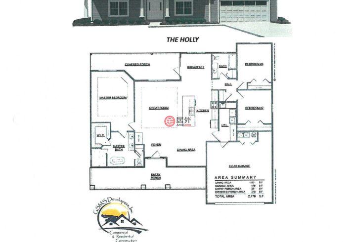 美国佛罗里达州莱克城的房产,编号54877434