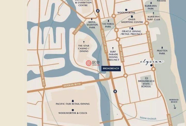 澳大利亚昆士兰Broadbeach的房产,185 Old Burleigh Road,编号42419723