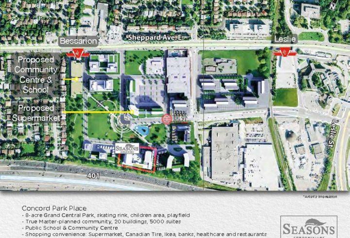 加拿大安大略省多伦多的房产,Esther Shiner Boulevard,编号33158329