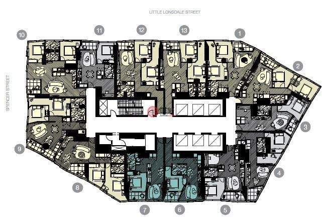 澳大利亚维多利亚州墨尔本的房产,Spencer Street,编号24362814