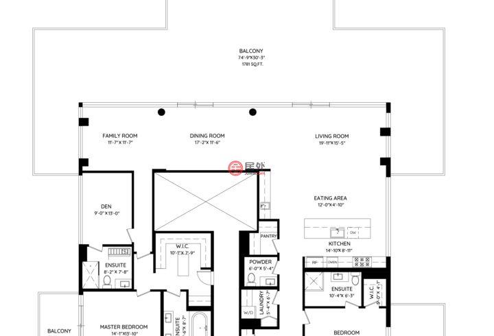 加拿大不列颠哥伦比亚省温哥华的房产,1001-1633 Ontario Street,编号55700879