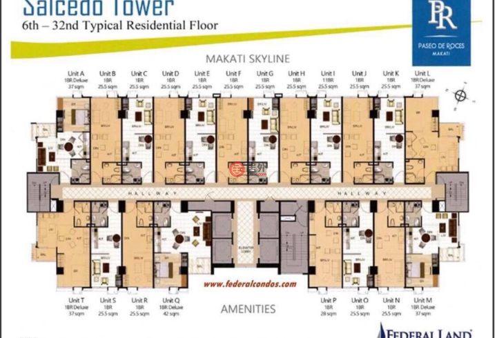 菲律宾Metro ManilaMakati的房产,Chino Roces Avenue,编号52024346