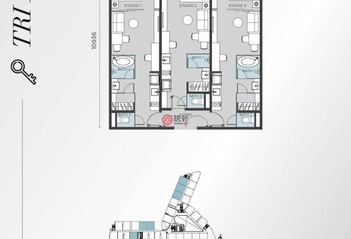 马来西亚Kuala Lumpur吉隆坡的房产,Mont Kiara,编号54739076