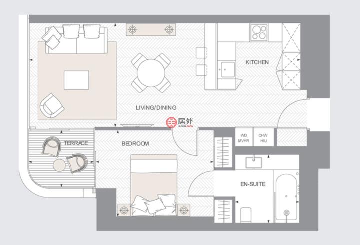 英国英格兰伦敦的房产,摩天塔,伦敦市中心摩天地标豪宅,编号32453518
