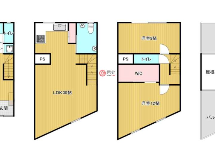日本大阪府大阪市的房产,阿倍野区共立通1丁目,编号55898916