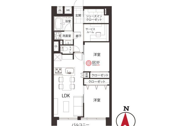 日本JapanTokyo的房产,编号54690754