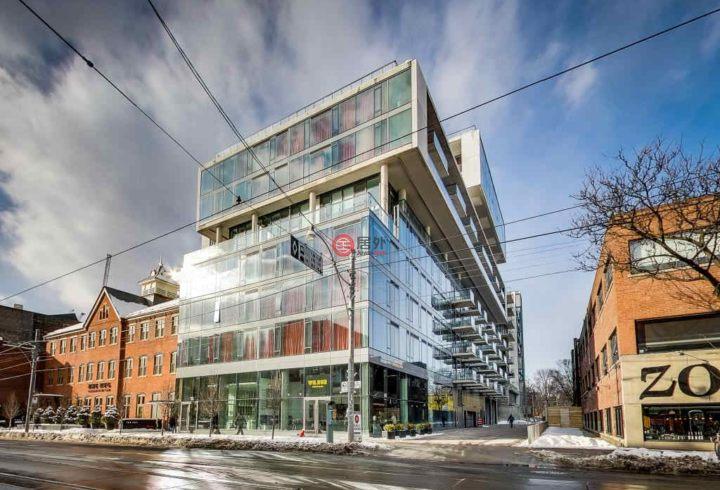 加拿大安大略省多伦多1卧1卫的房产