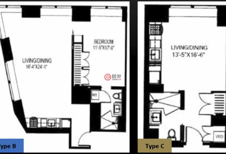 美国纽约州曼哈顿的房产,123 Washington Street,编号45568089