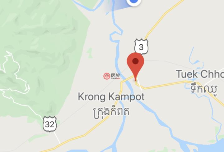 柬埔寨贡布Kampot的土地,road 3,编号51907876