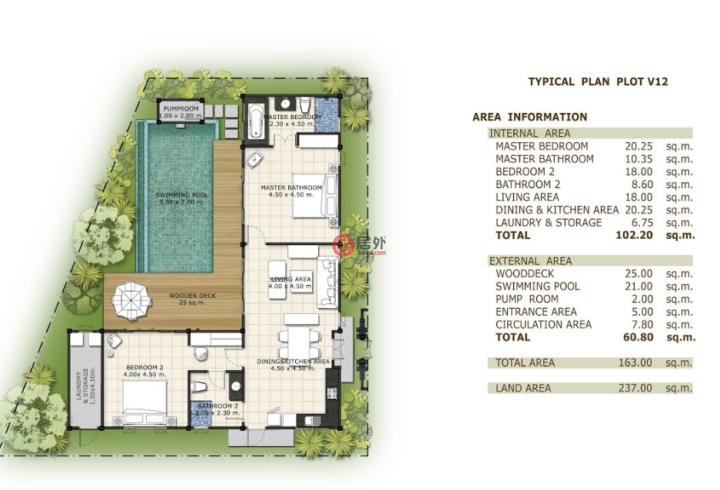 泰国普吉府普吉的房产,Bangtao,编号35538395